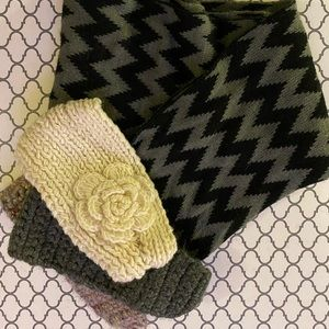 Winter Scarf and Headband Bundle!